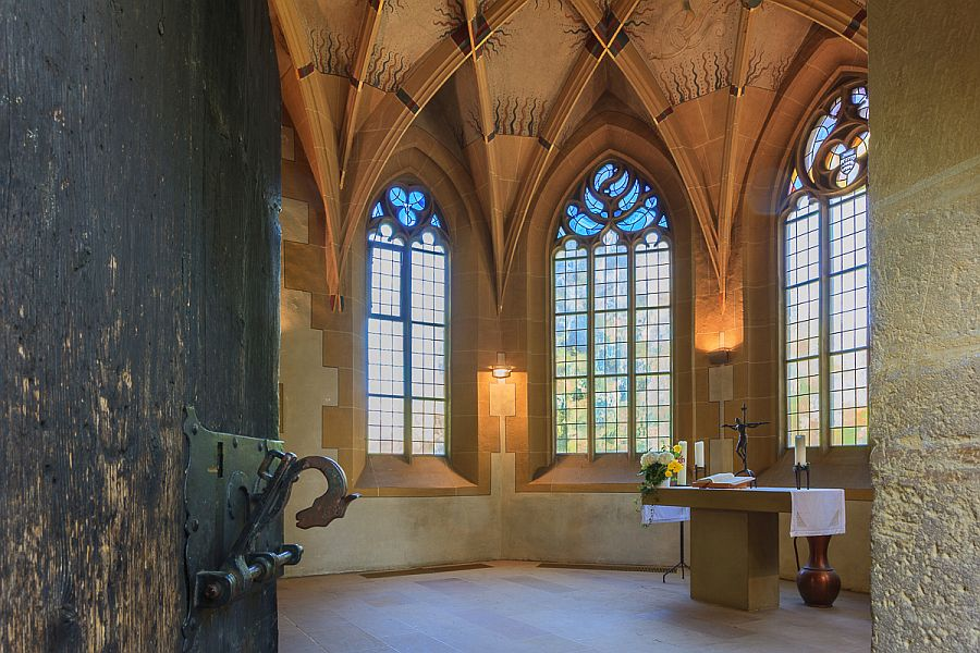 Das Nonnenkirchle innen
