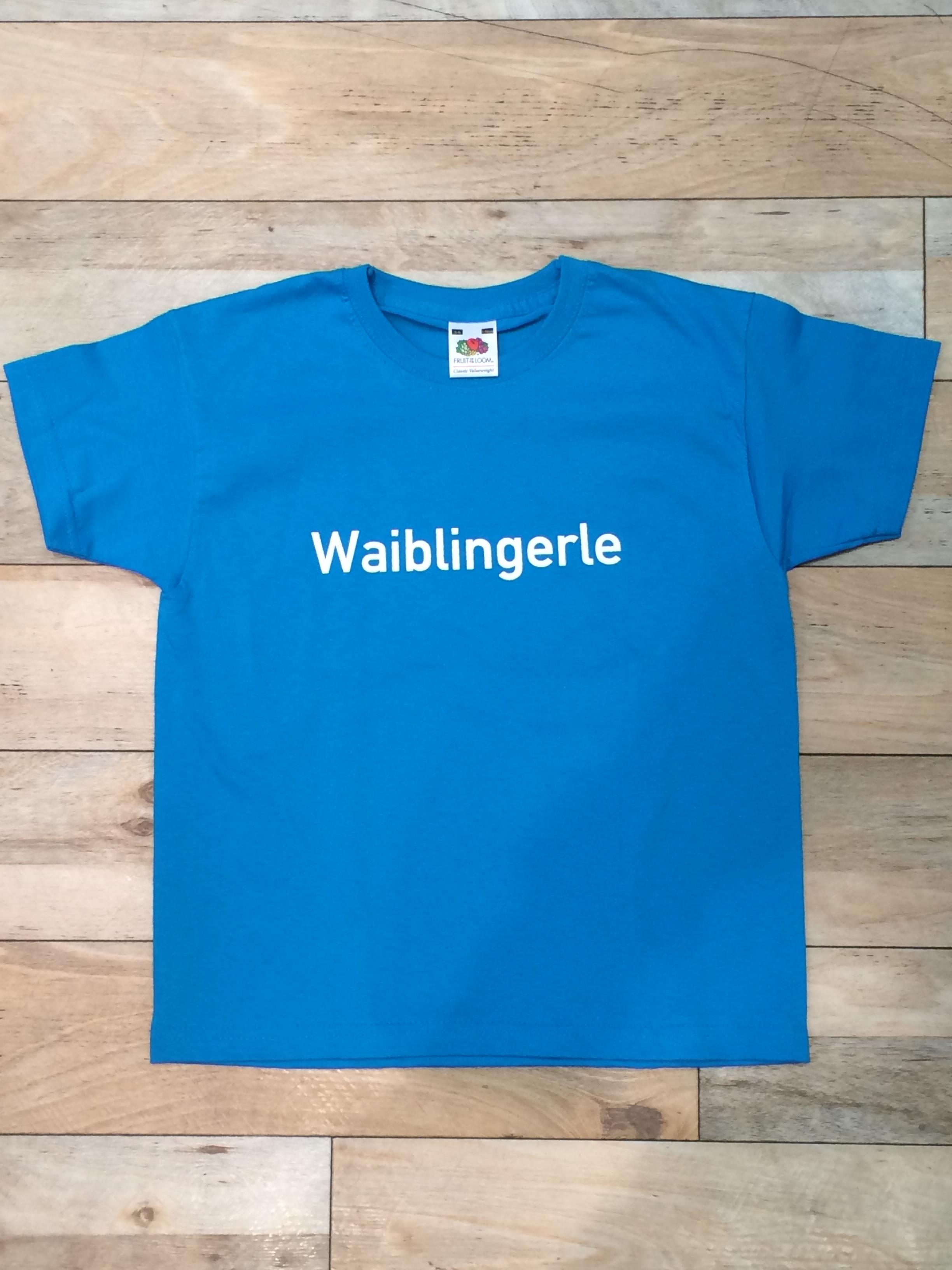 Waiblingerle Kinder T-Shirt türkis