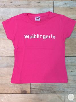 Waiblingerle Kinder T-Shirt pink