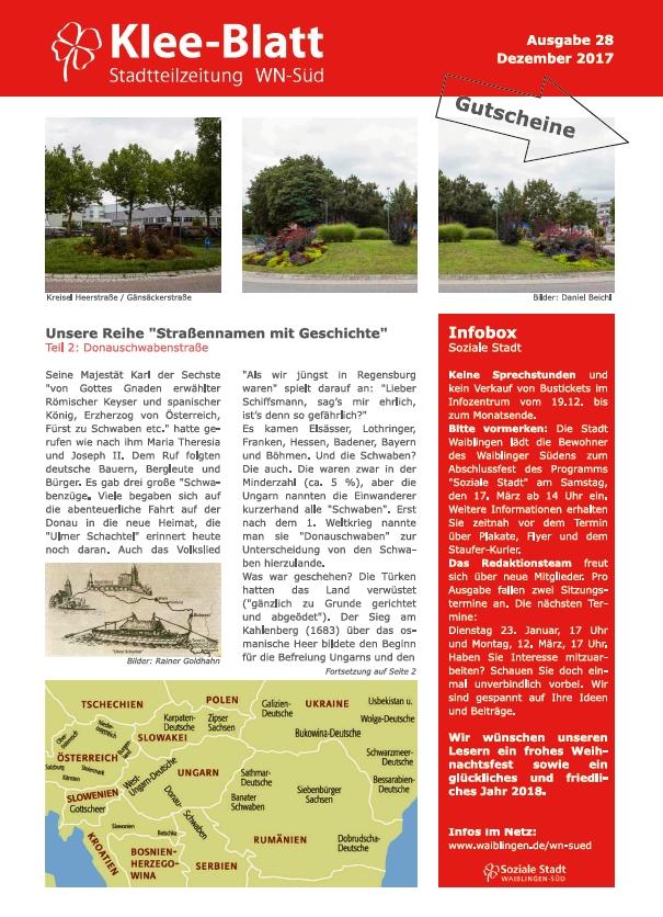 Titelblatt_28_Klee-Blatt