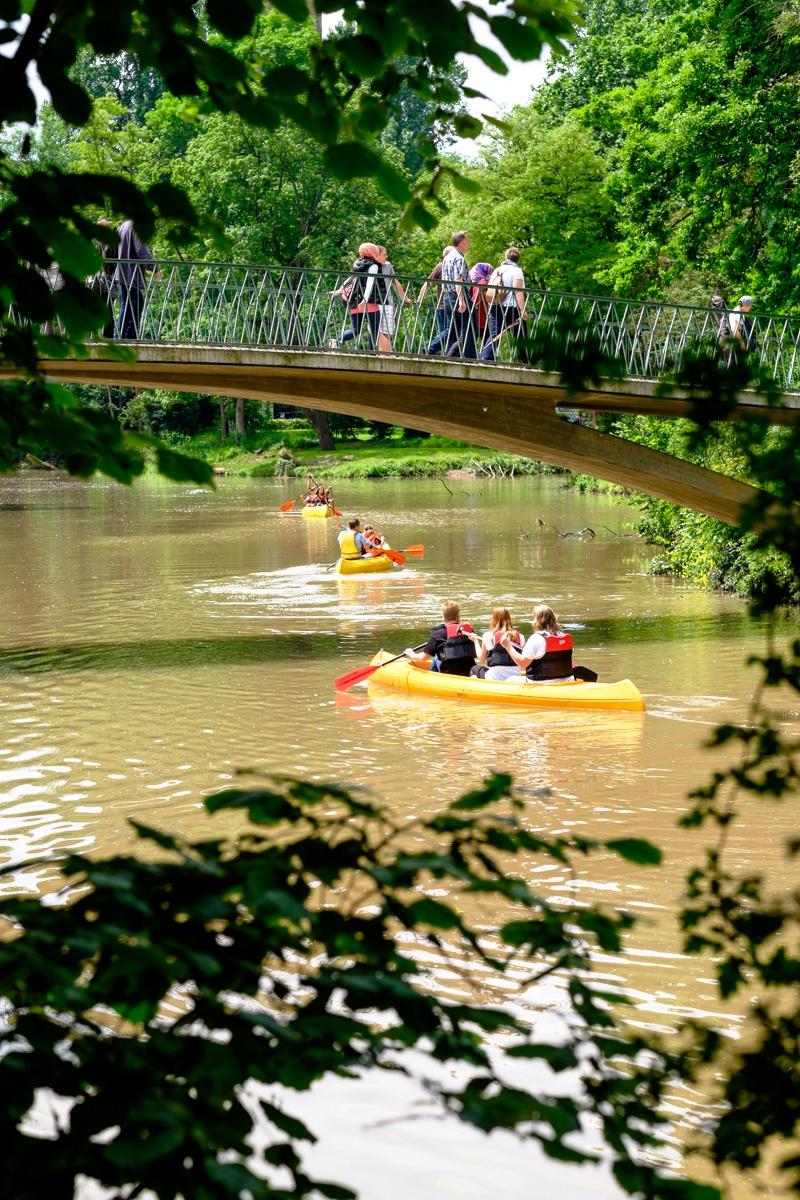 Kanu auf der Rems