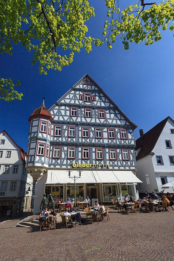 Fachwerkhaus in Waiblingen, Marktplatz1