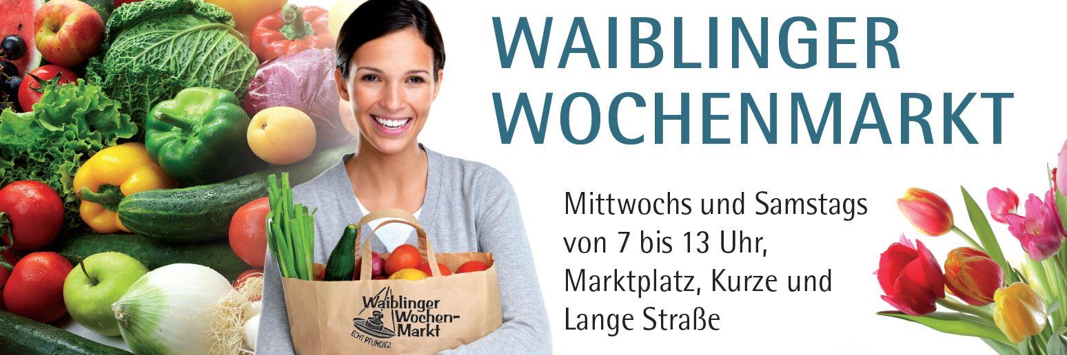 Banner Wochenmarkt