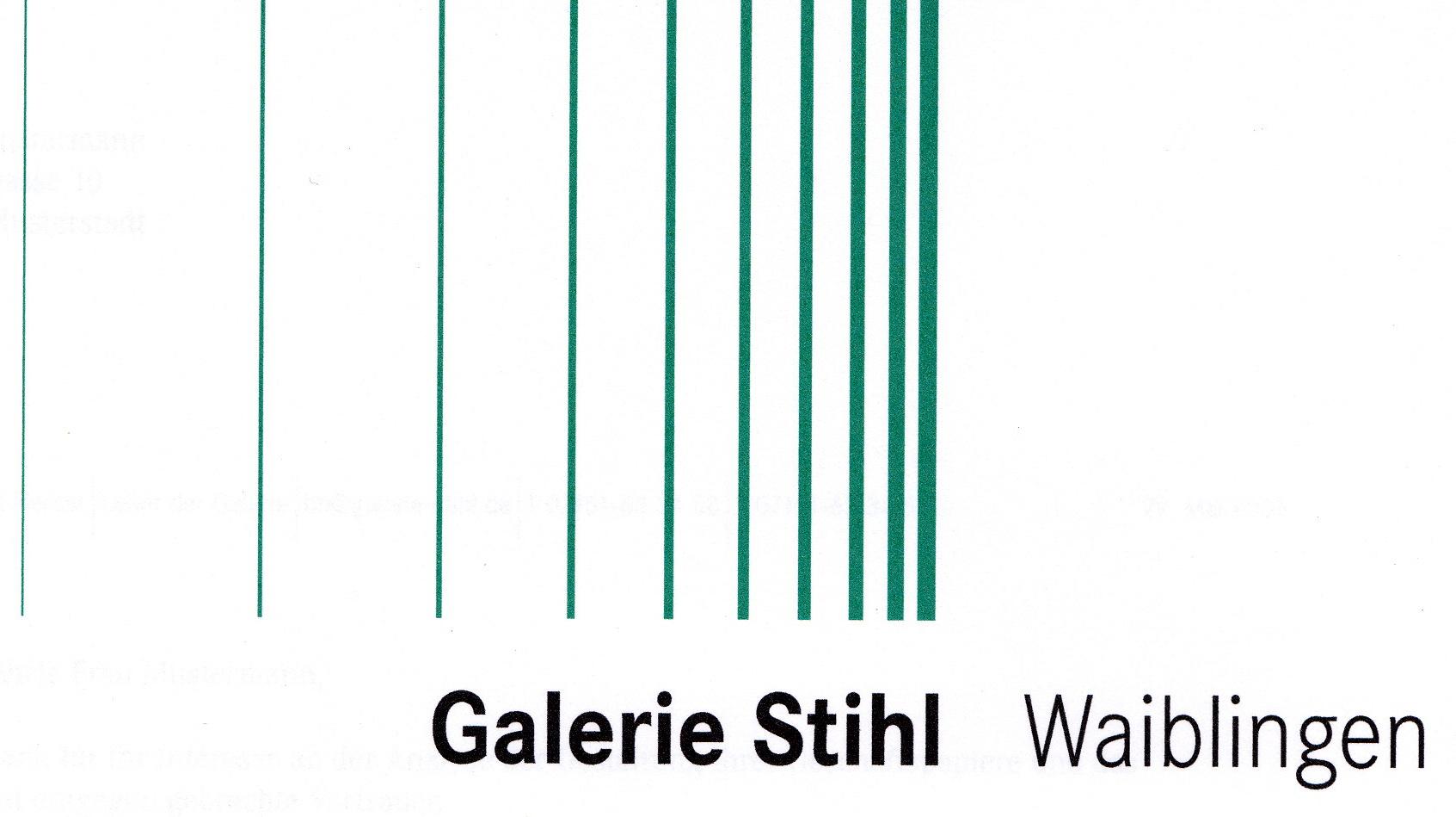 Logo der Galerie Stihl Waiblingen