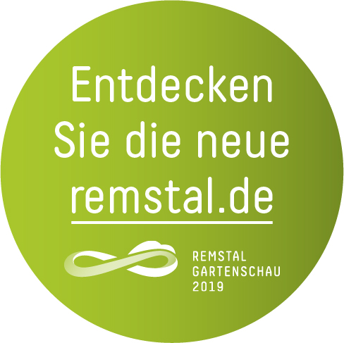 Dier Button für zur Homepage der Remstal Gartenschau 2019