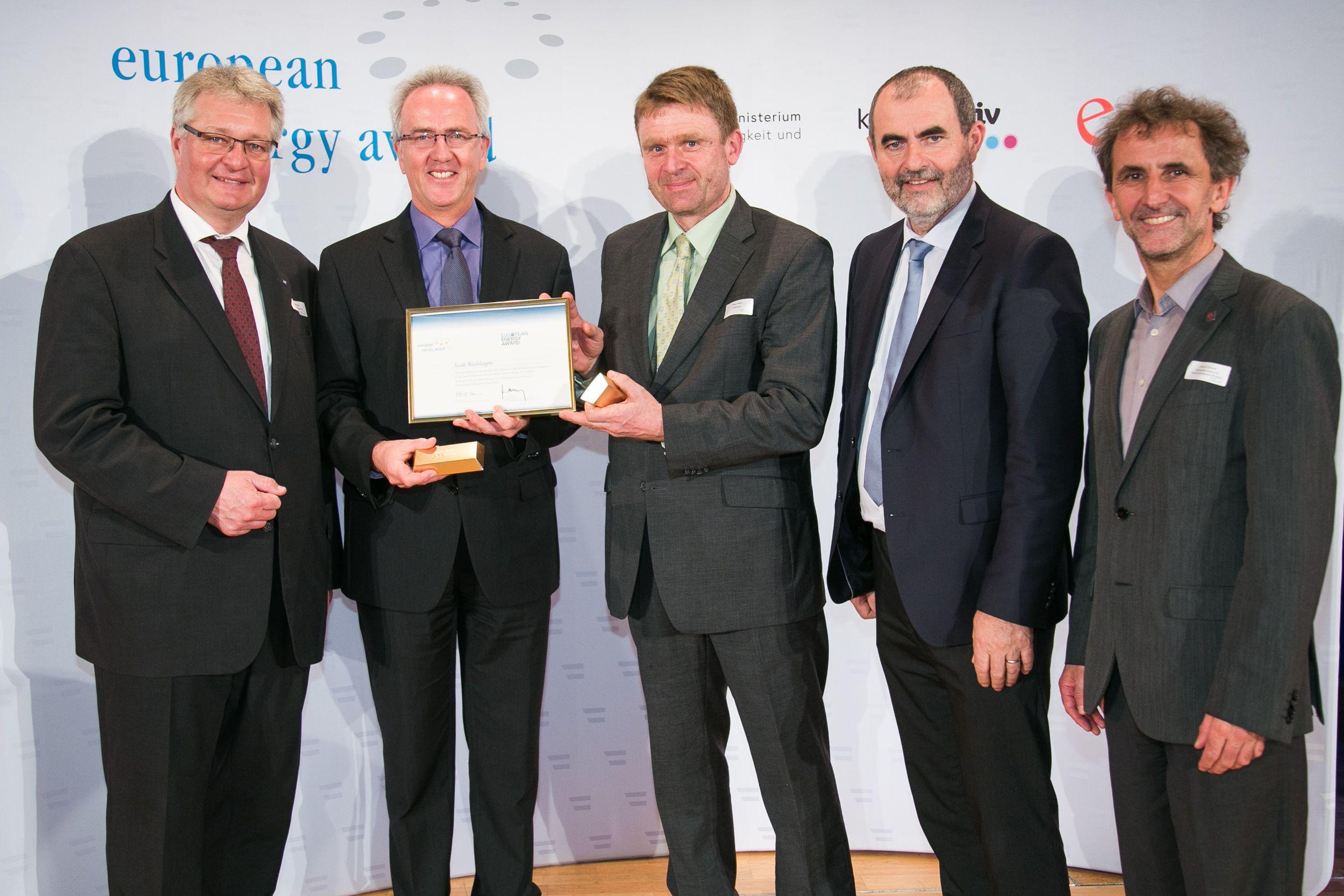 European Energy Awards in Baden - Stadt Waiblingen (D)