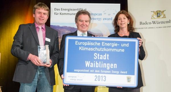 Verleihung European Engergy Award