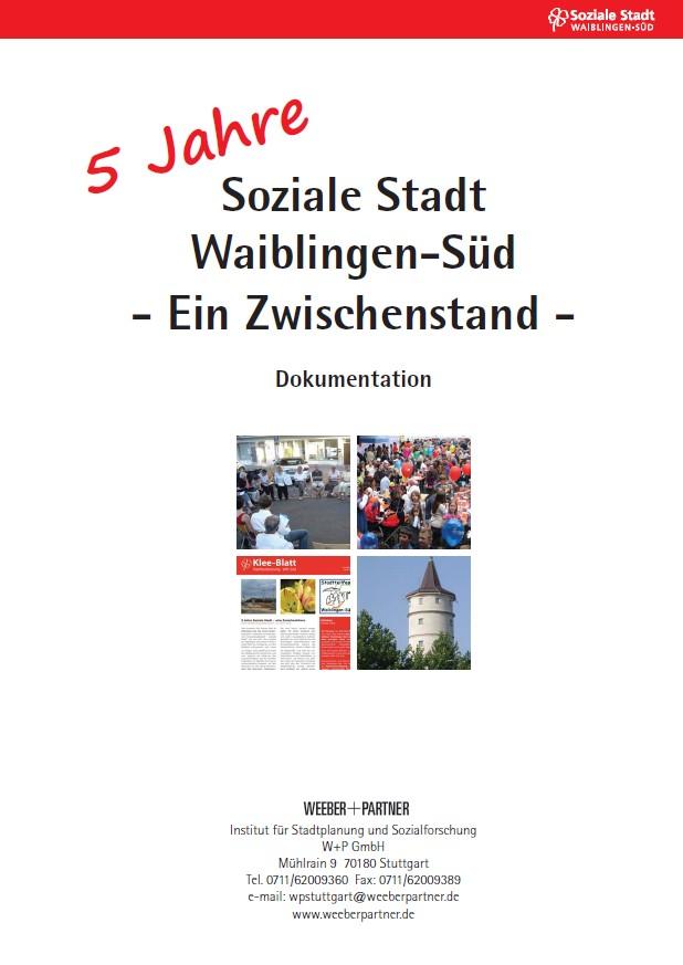 Titelbild 5 Jahre Soziale Stadt