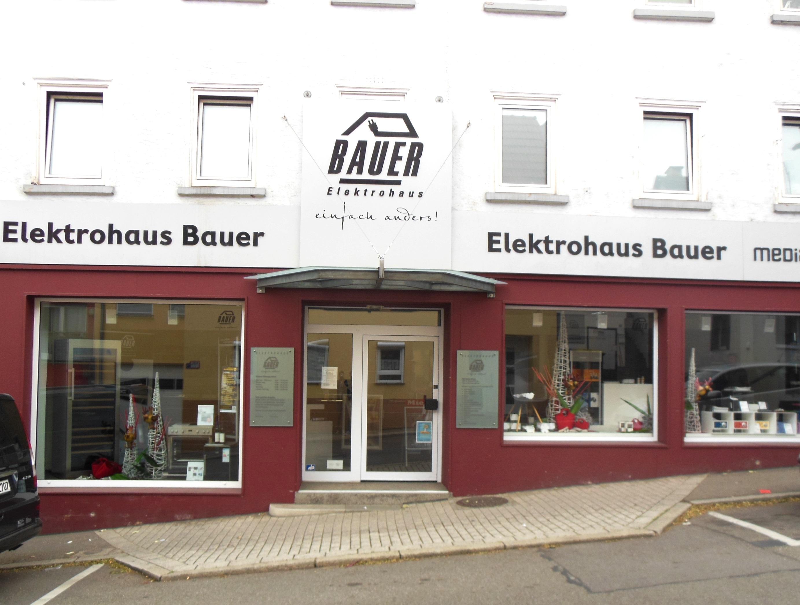 Elektrohaus Bauer Gebaeude