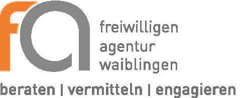 Logo der Freiwilligen Agentur Waiblingen (Stand: 11/2016)