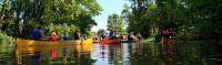 Kanu fahren auf der Rems