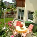 Ferienwohnung Dannhauer in Bittenfeld - Terrasse