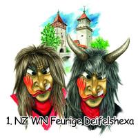 Logo 1. NZ WN Feurige Deifelshexa - mit Text