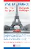 Plakat Französische Tage 2019