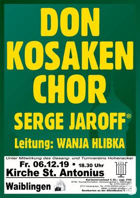 Plakat für Konzert