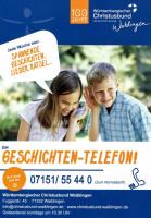 Geschichten-Telefon Flyer