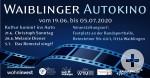 Waiblinger Autokino 2020 Banner