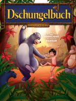 Plakatmotiv zu Kindermusical mit Titel Dschungelbuch