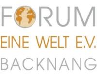 Logo des Vereins Forum eine Welt e. V. Backnang
