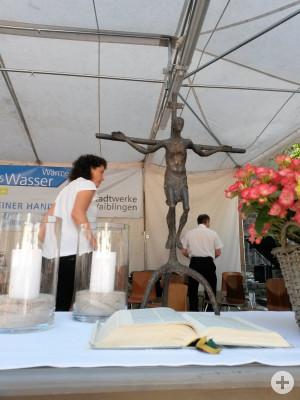 Altar am Altstadtfest