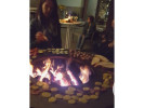 grillen am offen Feuer