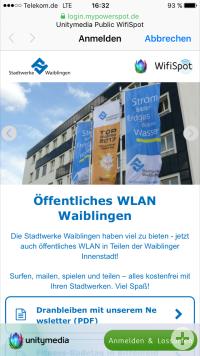 Titelseite WLAN