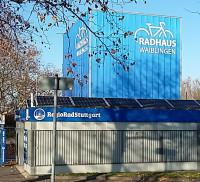 Radhaus Waiblingen mit Fahrradverleihstation RegioRad Stuttgart