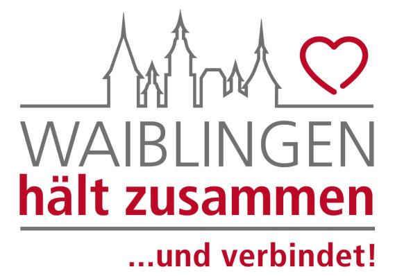 Logo Waiblingen hält zusammen