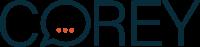 Corey Logo blau