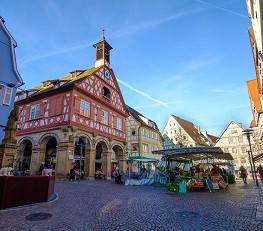 Waiblinger Wochenmarkt Marktplatz