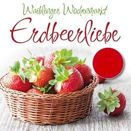 Waiblinger Wochenmarkt Erdbeerliebe