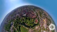 Waiblinger Innenstadt von oben