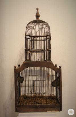 Vogelkäfig, um 1900