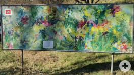 Banner am Stadteingang von Waiblingen aus Richtung Korb