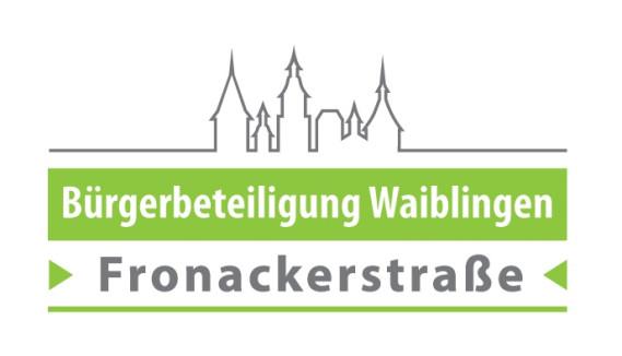 Logo Bürgerbeteiligung Fronackerstraße