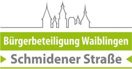 Logo Bürgerbeteiligung Schmidener Straße