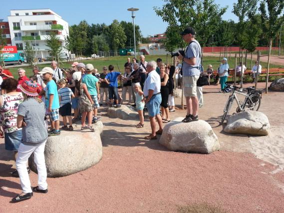 Eröffnung Rötepark 1