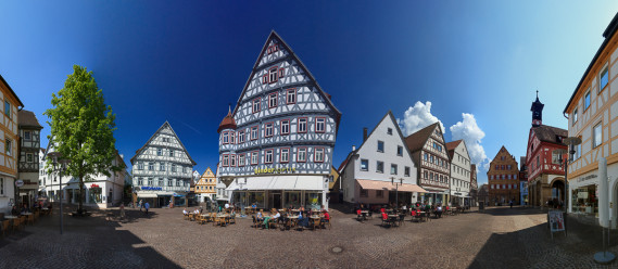 Marktplatz Panorama