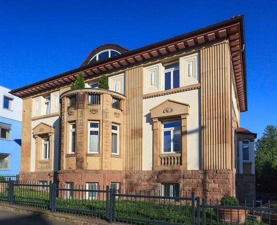Villa  Kaiser in der Bahnhofstrasse